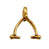 Bronze Bail For Side Holes 10.5mm with 5mm Loop